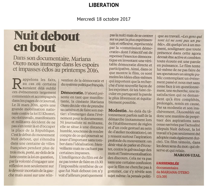 article libé